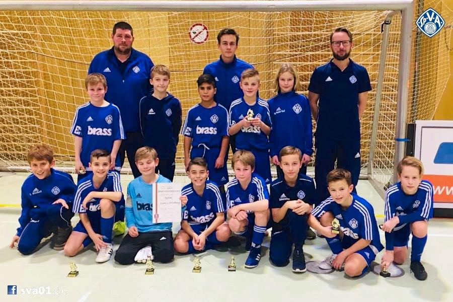 Viktoria dominiert Aschaffenburger Hallenfußball-Stadtmeisterschaften