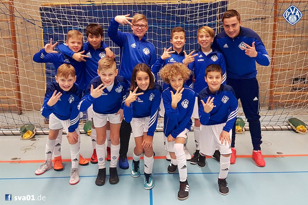 U12-Junioren überzeugen beim U13-Bezirksoberliga-Turnier