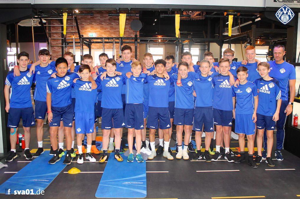 U15-Junioren bereiten sich auf Rückrunde vor