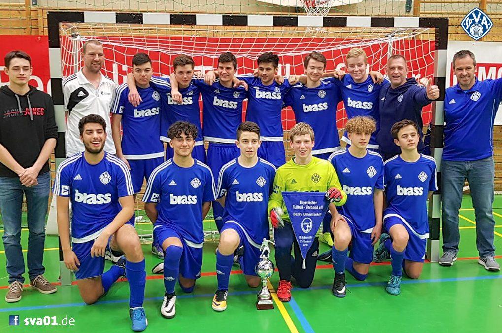 U17-Junioren gewinnen Bezirksmeisterschaft