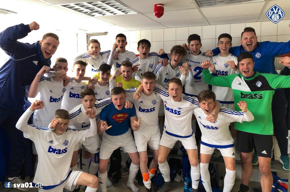 U16-Junioren entscheiden BOL-Topspiel für sich