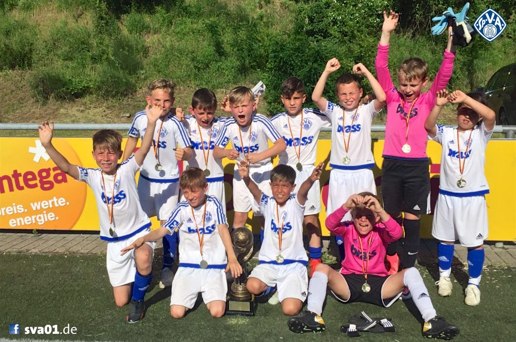 Entega Cup: Turniersieg der U9-Junioren in Heppenheim