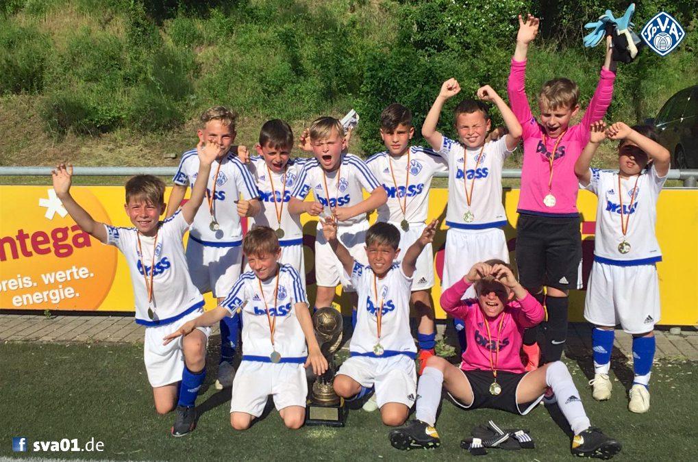 Entega Cup: Turniersieg der U9-Junioren in Heppenheim