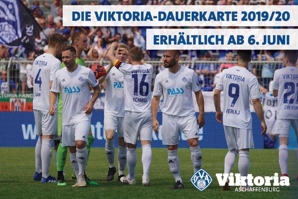 Viktoria startet Dauerkarten-VVK für neue Saison
