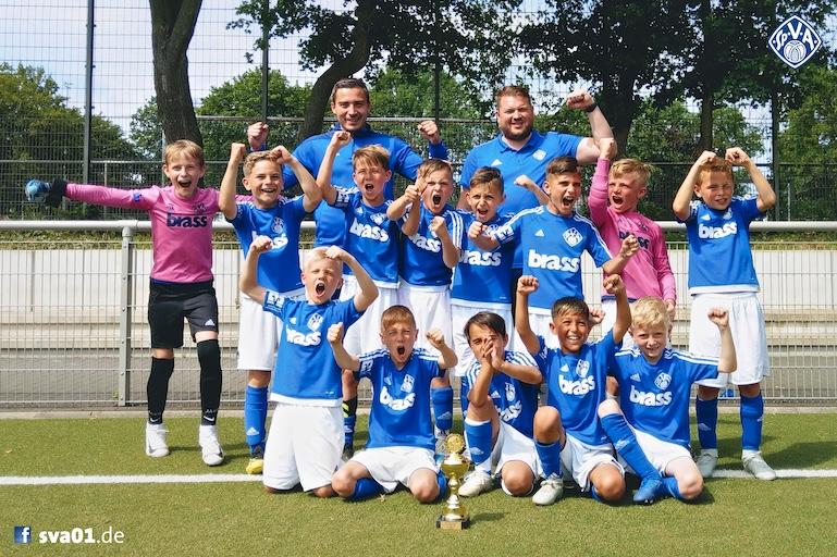 Viktorias U9-Junioren gewinnen in Köln gegen Juventus Turin