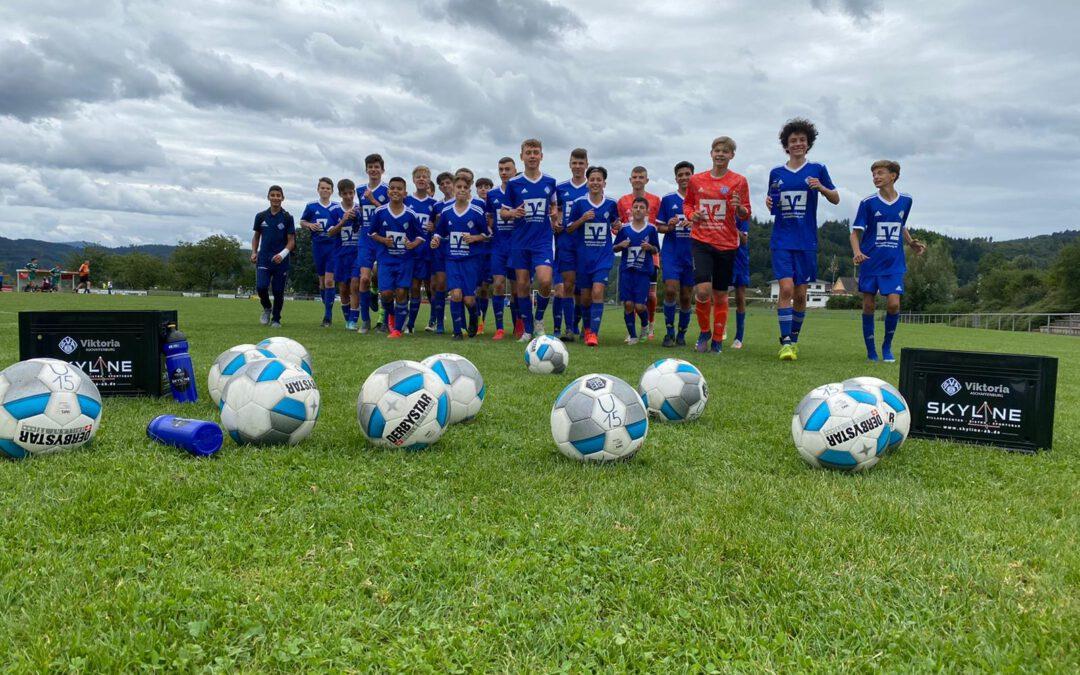 Unsere U15-Junioren erstmals in der Regionalliga Bayern