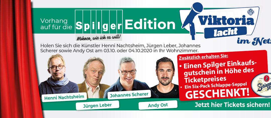 Spilger Edition: Über gute Pointen kann man mehrmals lachen