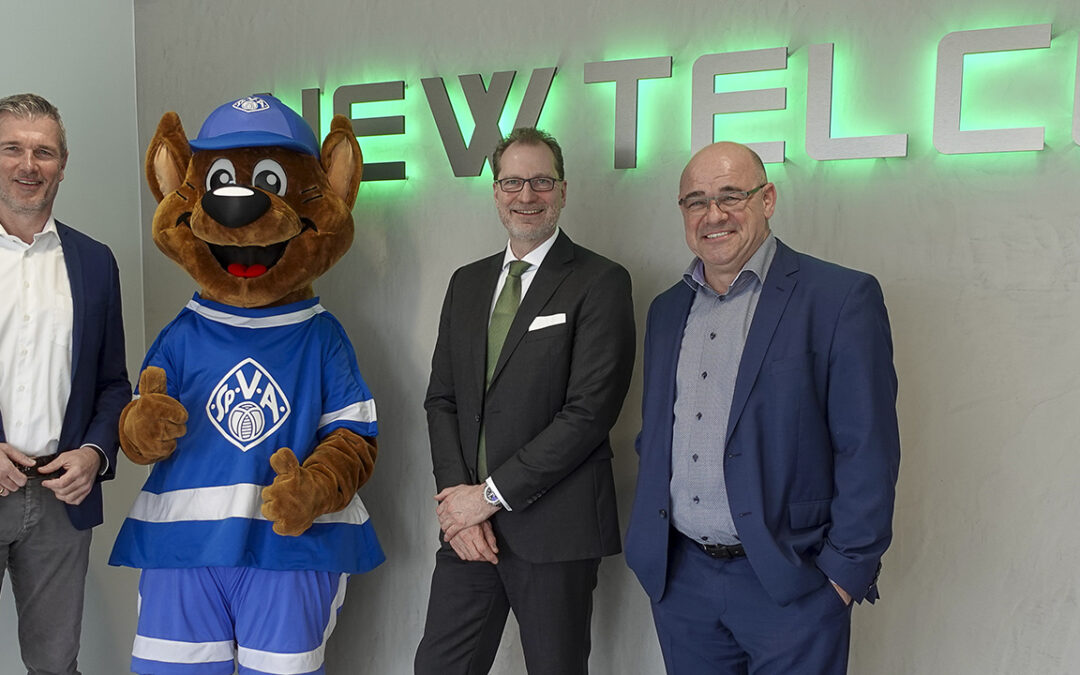 Neuer Sponsor: NewTelco aus Frankfurt