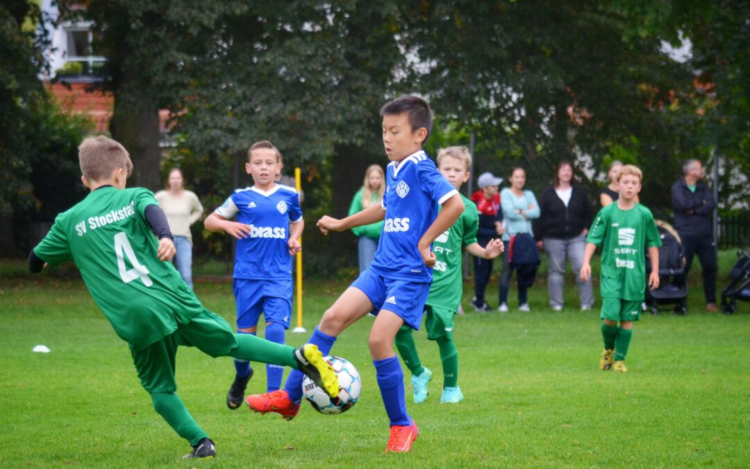 U9-Junioren siegen gegen Stockstadt